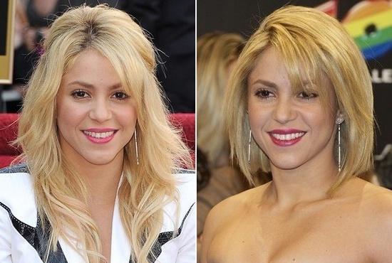 Шакира новая причёска
