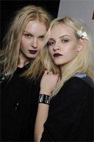 Макияж губ в готическом стиле — новая тенденция сезона осень 2010