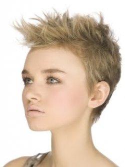 Торжественные прически из коротких волос
