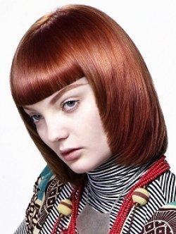 Золотисто-каштановый оттенок волос