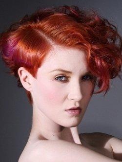 Оттенок волос красная медь