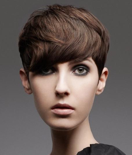 Укладка на короткие волосы в 2012 году