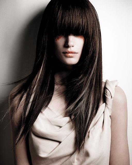 Стрижки для длинных волос 2012