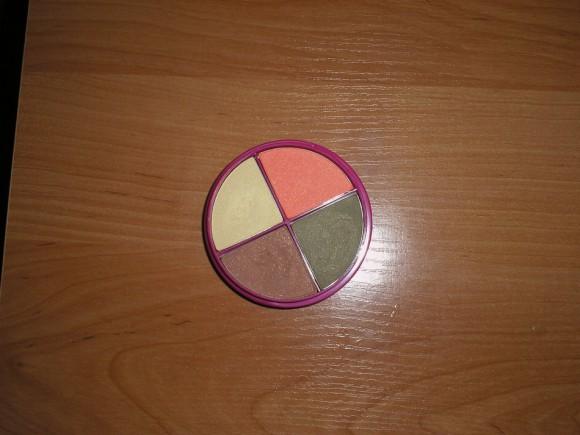 Четырехцветные тени для век Flormar Pretty №P-041