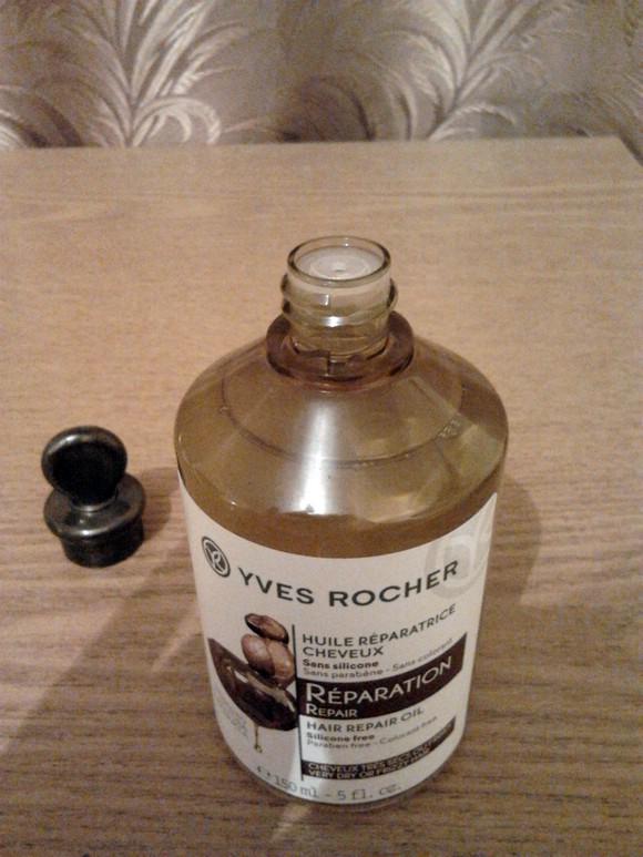 Yves Rocher. Масло для Восстановления с Бабассу, Жожоба и Макадамией