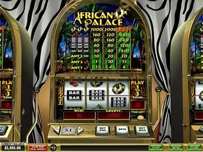Игровой автомат African Palace